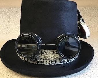 Steampunk Gunslinger Costume Top Hat