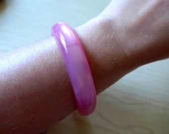 SALE ! Beautiful 1950's 1960's Pink Lucite Bracelet