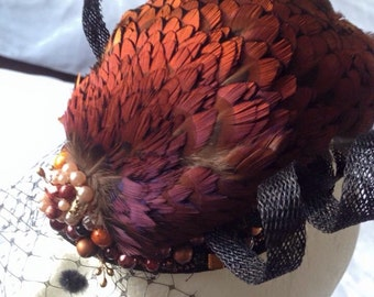 "Fascinator ""Lady Camilla""- reserved - custom order"