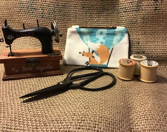 cute fox coin purse