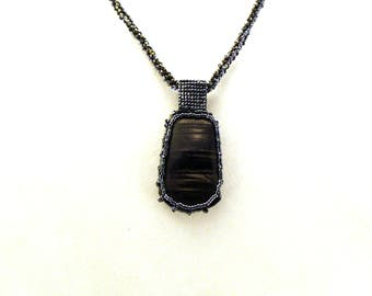 Caged Hyperstien Necklace