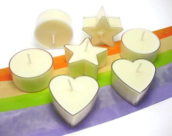 6 Aromatherapy Tealight Candles | Soy Candles | Luxury Candle | Lavender | Sweet Orange | Ylang Ylang | Bespoke | Home Decor | Gift