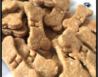 2 inch Harley's Peanut Butter, Oats, and Applesauce Homemade Healthy Dog Treats! Made Fresh to Order!