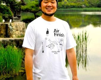 T-Shirt Football Mad Kyoto-Air Finish