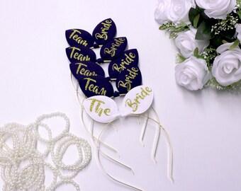 Bridal Tiara, Bachelorette Tiara, Bride Headband, Bachelorette party, Wedding party, Bridal tiara, Headbands, Tiara, Weddings, LOVE SSS