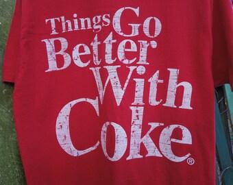 Coca-Cola Classic t-shirt, Large