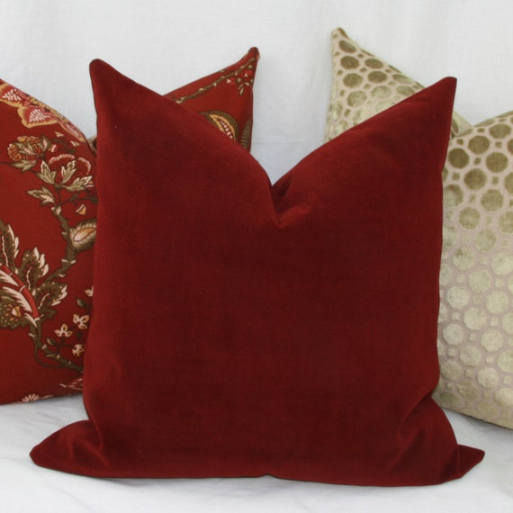 Red Decor Pillow Covers