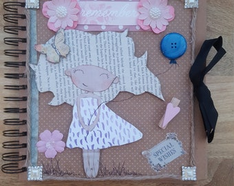 Cute bespoke sketch book