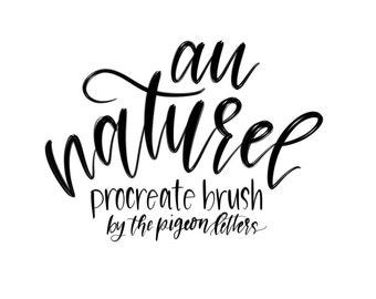 Au Naturel Procreate Brush | iPad Pro