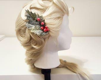 Olaf's Frozen Adventure Inspired Elsa Hair Clip