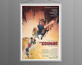 The Goonies Join The Adventure Classic Movie Cover Home Decor   Poster