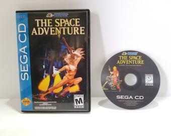 The Space Adventure Sega CD Reproduction