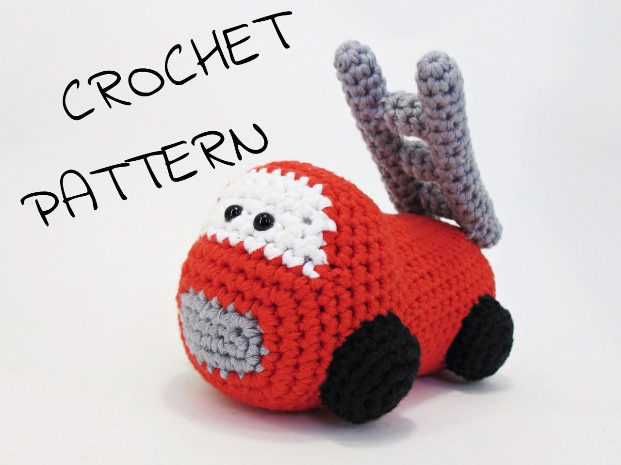 Amigurumi Magazine Pdf : Amigurumi fire truck stuffed toy crochet pattern pdf tutorial
