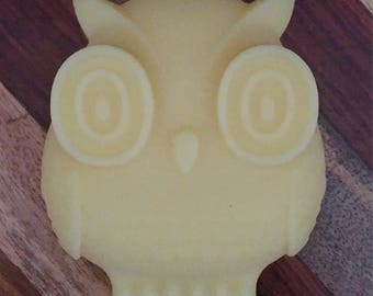 All Natural Shea Butter OWL Lotion Bar ~ 3 oz ~ Dry, Itchy Skin Moisturizer ~Scented or Unscented~