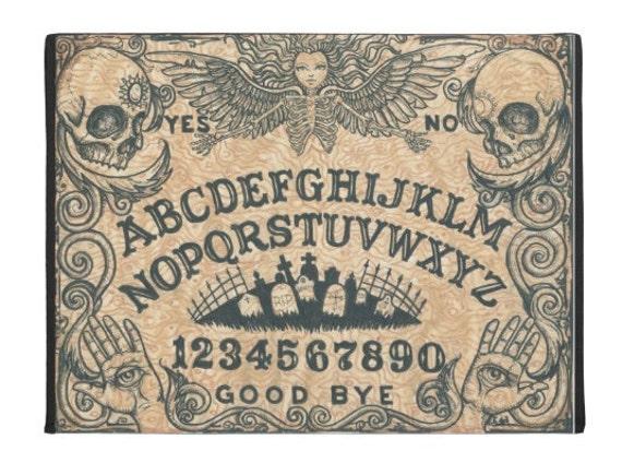 Ouija Board Death Angel Beige door mat