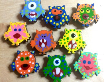 Mini Monsters - Magnets
