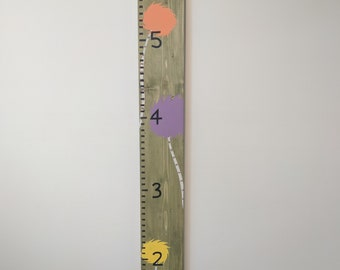 OH THE PLACES | Growth chart | Wall ruler | Kid Decor