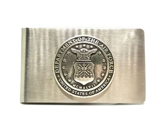 Air Force Money Clip – Metallic