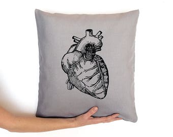 LOVE gift, Anatomical heart, heart pillow, nursing student, medical student gift, doctor gifts, grey's anatomy, cardiology, nurse, anatomy