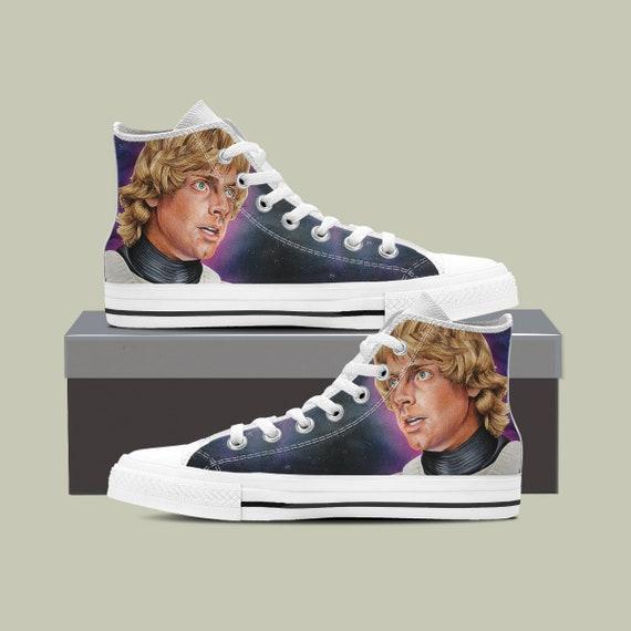 Wars Shoes Star Death Star Darth Custom Star Luke Wars vader Custom Wars Shoes Star Wars Phasma Converse Sneaker Captain Star qxYw84BAY