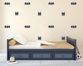 Batman Wall Decal | Etsy