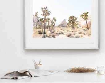 "joshua tree large print, desert print, california print, wall art, fine art print, joshua tree fine art photograph, joshua tree 20x30"" print"