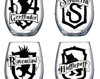 15oz Stemless Wine Glass | Harry Potter