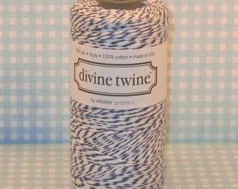 Blueberry Divine Twine  (240 Yds)  Navy Divine Twine, Navy Baking Twine, Navy Bakery Twine, Baking Twine, Bakery Twine