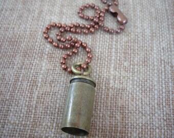 jingle bullet anklet