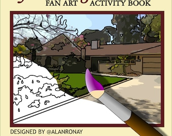 Thank You for Being A Friend - Fan Art Activity Book