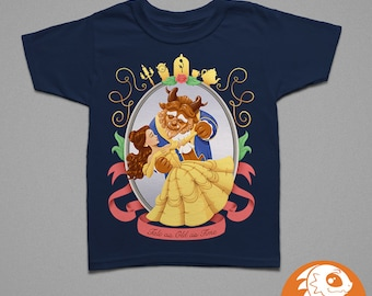 Beauty and the Beast | Children's T-Shirt | Baby Onesie | Cute Princess