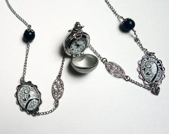 Ball watch, black hearts MON024