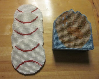 sports and patriotic coasters