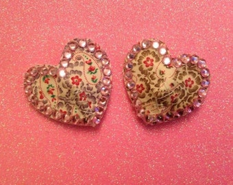 Floral Nipple Pasties (message for floral design options)