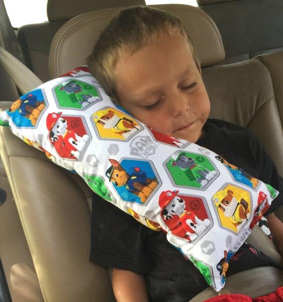 Paw Patrol Seat Belt Pillow Child S Travel Pillow Booster