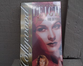 Hollywood Remembers Vivien LEIGH Scarlett and Beyond VHS 1994 Gone With The Wind Scarlett O'Hara Hollywood Legends Collection Collector Gift