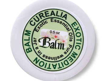 Exotic Meditation Balm - Pure Natural - 0.5 oz - Curealia