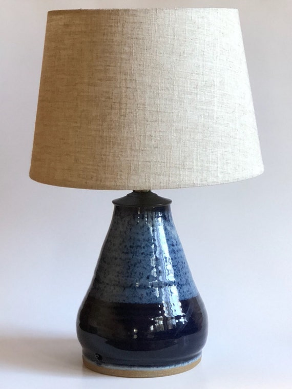 Handmade pottery table lamp base ceramic lamp handmade like this item mozeypictures Images