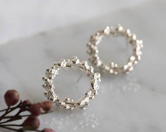 Bubble Circle Earrings