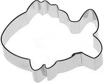 3.75 in. Tropical Fish  Cookie Cutter