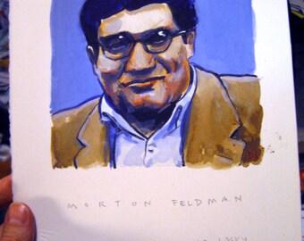 Morton Feldman portrait