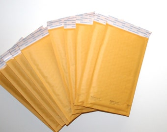 "Paper Bubble Pack Mailers 5x10"" Shipping Packaging Supplies Shipping Supply Envelopes Bubble Pack Paper Envelopes by CzechBeaderyShop"