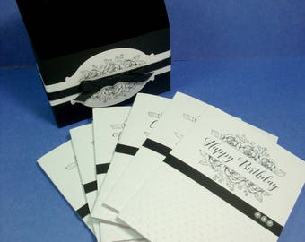Unique Gift for Her, Unique Note Card Gift Set, Unique Gift Set, Elegant Greeting Card Set, Greeting Card Assortment, Unique Card Assortment