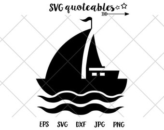 sailboat silhouette | etsy