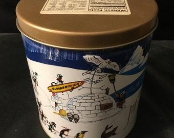 "Hal Kattau Trail's End ""Arctic Fantasy"" Vintage tin. 1996. Excellent condition. Used."