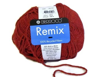Berroco Remix Cotton Silk Linen Yarn 1 Skein 3996