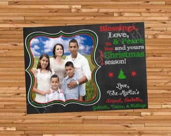 Christmas Tree Printable Christmas Card