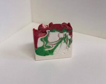 Kiwi Strawberry Soap / Artisan Soap / Handmade Soap / Soap / Cold Process Soap