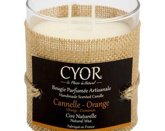 Candle SCENTED cinnamon-Orange 240g