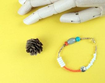 Boho Chic Bead Bracelet